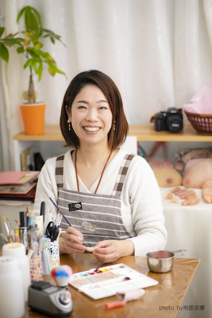 GIA(群馬イノベーションアワード)入賞者 エピテ・みやびの田村さんのお写真。