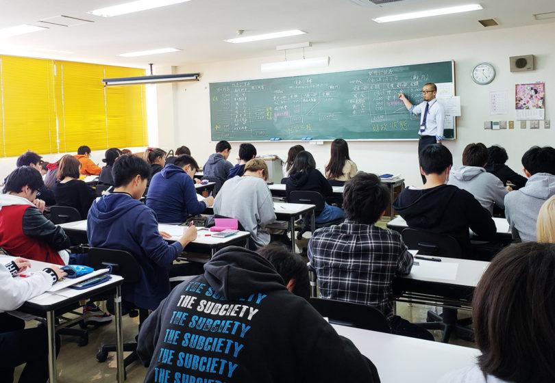 情報ビジネス学科4月の授業風景